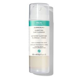 REN Clean Skincare  Clearcalm 3 Clarifying Clay Cleanser from Bicester Village