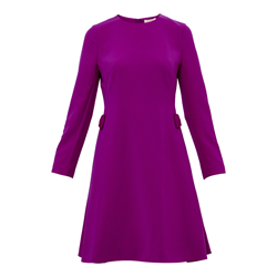 Ted Baker Side bow long sleeve dress