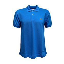 Men's polo in blue by Lacoste at Ingolstadt Village