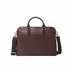 Men's bag in brown by Fossil at Wertheim Village