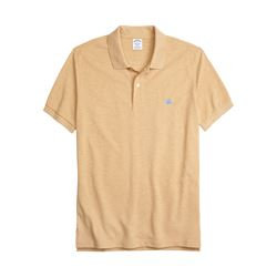 Brooks Brothers Mustard Slim Fit Supima® cotton polo shirt from Bicester Village