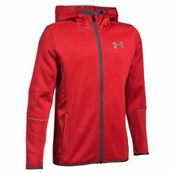 Under Armour Boys red UA swacket