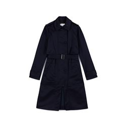 Carven, Navy satin trench