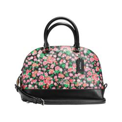 Mini Sierra Satchel floral Coach
