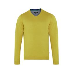 Ted Baker 32-LIME Long Sleeve V-neck in lime from Bicester Village