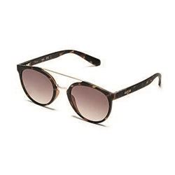 Ladies Leopard Print Sunglasses with silver bar