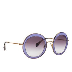 Cottet - Purple oval Miu Miu sunglasses