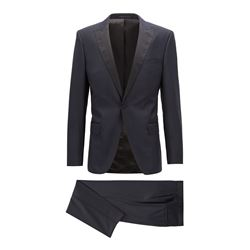 Hugo Boss Men's dark blue Housten/Glorious Tuxedo