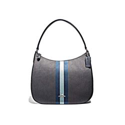 Varisty Stripe Zip Shoulder Bag