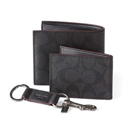 Men's purse and luggage tag