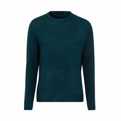 Falke Men's teal knit sweater