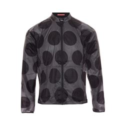Pack jacket dot print