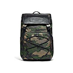 Coach Men's Terrain backpack in pixelated camo print